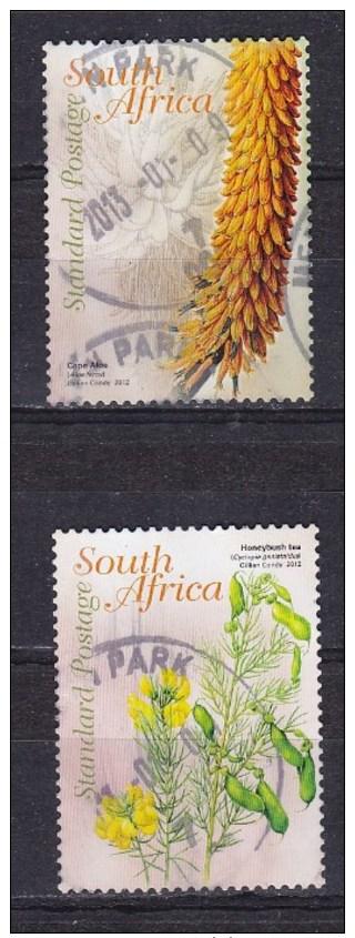 Afrique Du Sud - Zuid Afrika  Cat Y&T 2 Timbres De  2012   -  Obliteré - Gestempeld -used - Afrique Du Sud (1961-...)