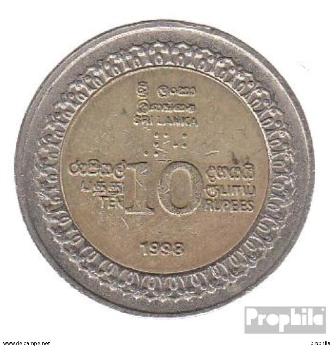 Sri Lanka KM-Nr. : 158 1998 Vorzüglich Bimetall Vorzüglich 1998 10 Rupien Unabhängigkeit - Sri Lanka
