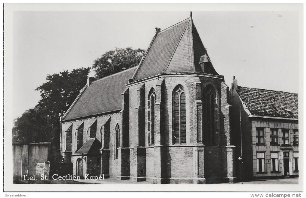 NL.- Tiel. St. Cecilien Kapel. Kerk . 2 Scans. - Tiel