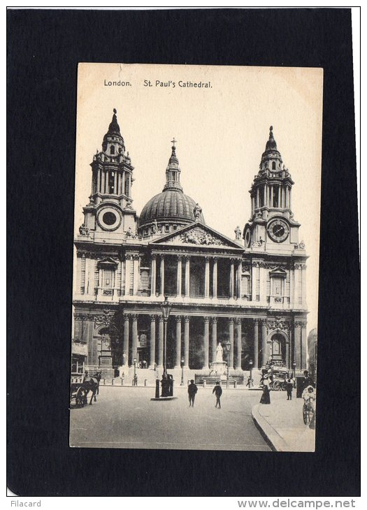"""51668    Regno  Unito,   London,  St. Paul""""s  Cathedral,  NV - St. Paul's Cathedral"""