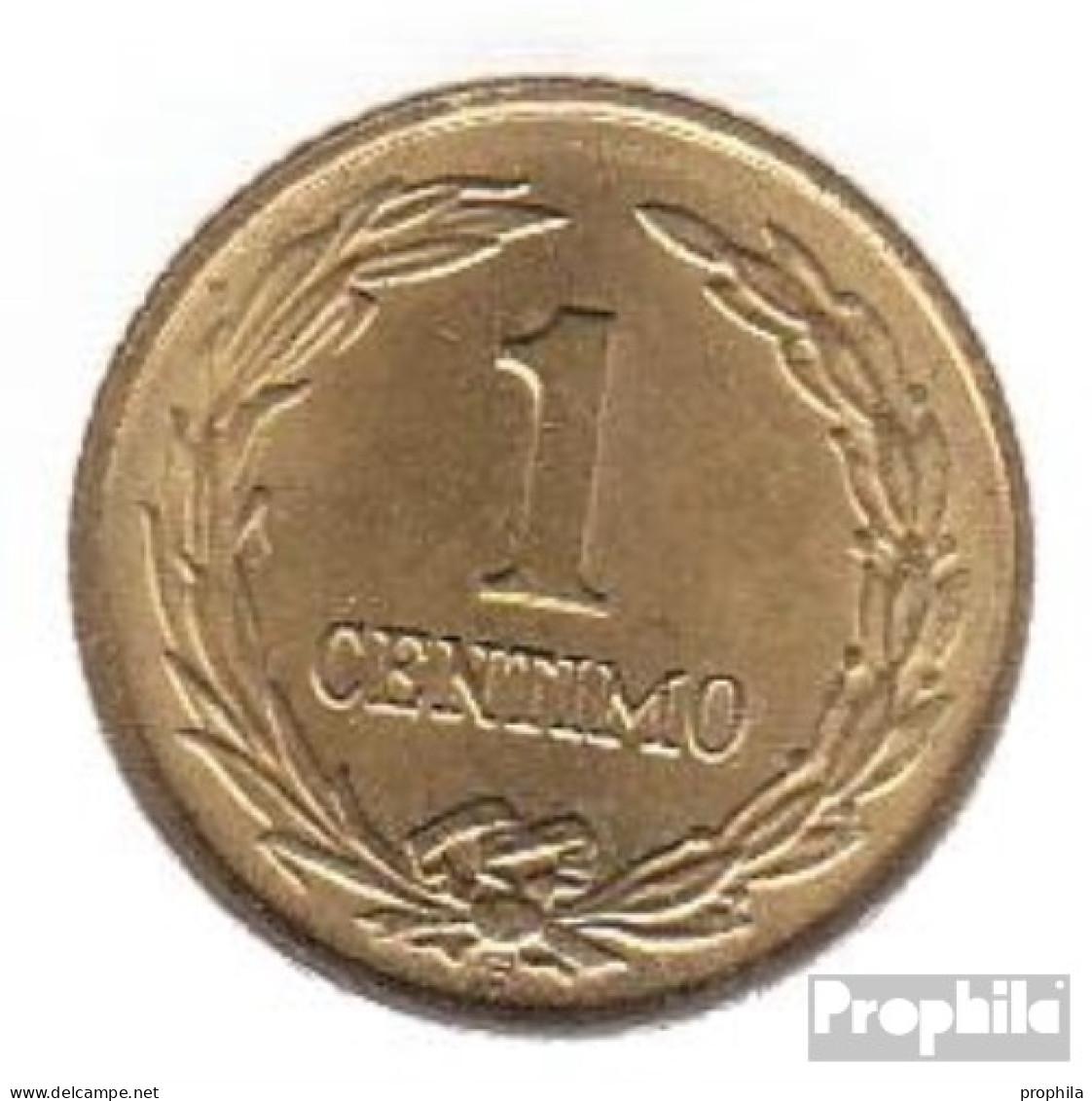 Paraguay KM-Nr. : 20 1950 Stgl./unzirkuliert Aluminium-Bronze Stgl./unzirkuliert 1950 1 Centimo Stern - Paraguay
