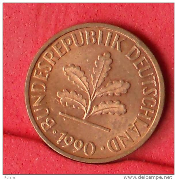 GERMANY FEDERAL REPUBLIC  2  PFENING  1970 J   KM# 106a  -    (Nº11142) - [ 7] 1949-…: BRD