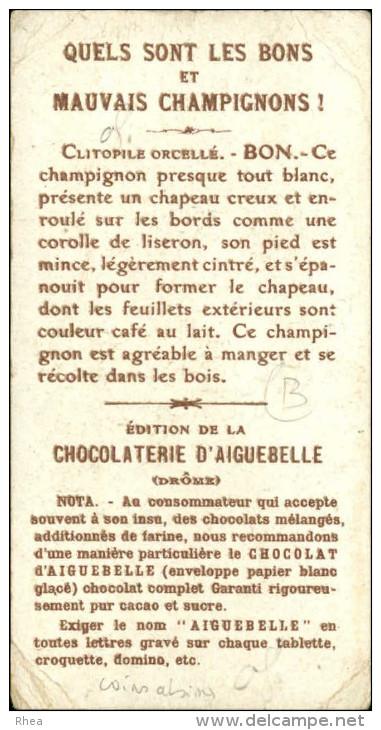 CHAMPIGNONS - Pub Pour Chocolat D'Aiguebelle - - Aiguebelle
