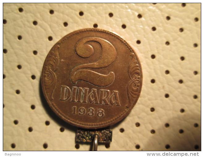 YUGOSLAVIA 2 Dinara 1938       # 1 - Yugoslavia