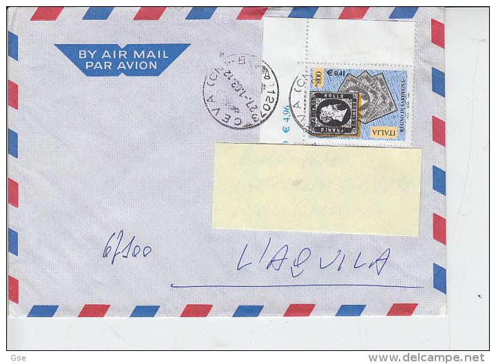 ITALIA 2003 - Lettera  - Sassone 2528 -  Francobollo Di Sardegna - - 6. 1946-.. Repubblica