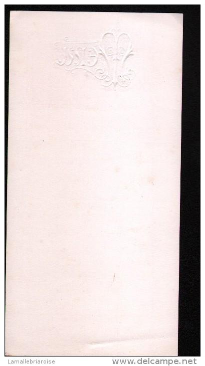 MENU,1937 - Menus
