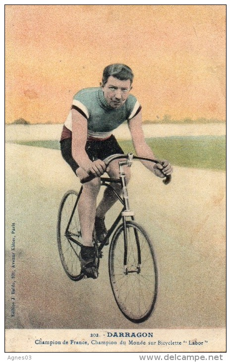 DARRAGON   Champion Sur Bicyclette   LABOR - Cyclisme