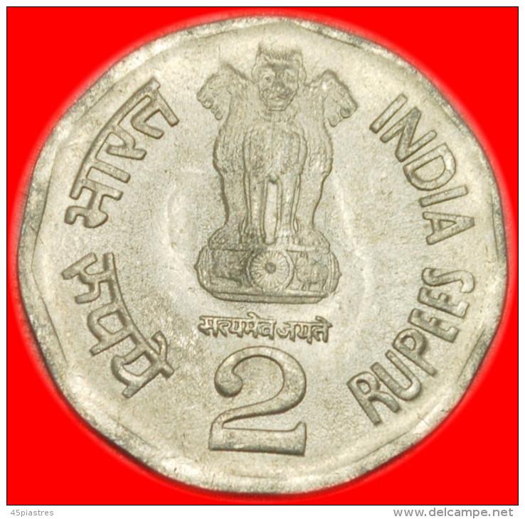 ★RAIL ROADS★INDIA ★2 RUPEES 2003! UNCOMMON! UNC! LOW START★ NO RESERVE! - Inde