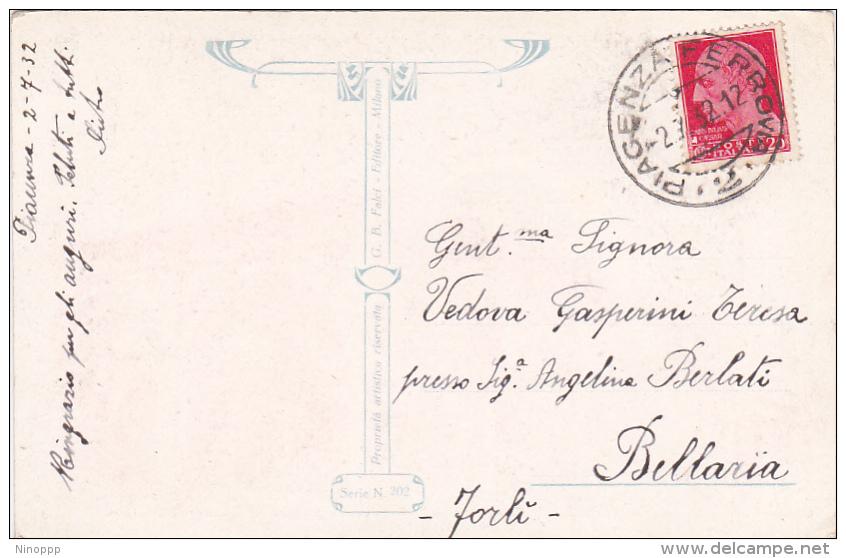 Italy Postcards 1932 A Chi L'Italia Bella Used - Used