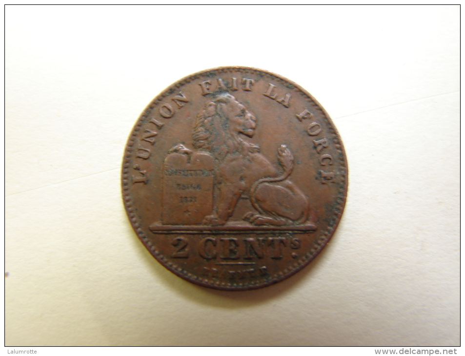 MD. Mo. 30. Albert Ier. 2 Centimes. 1912. Fr - 02. 2 Centimes