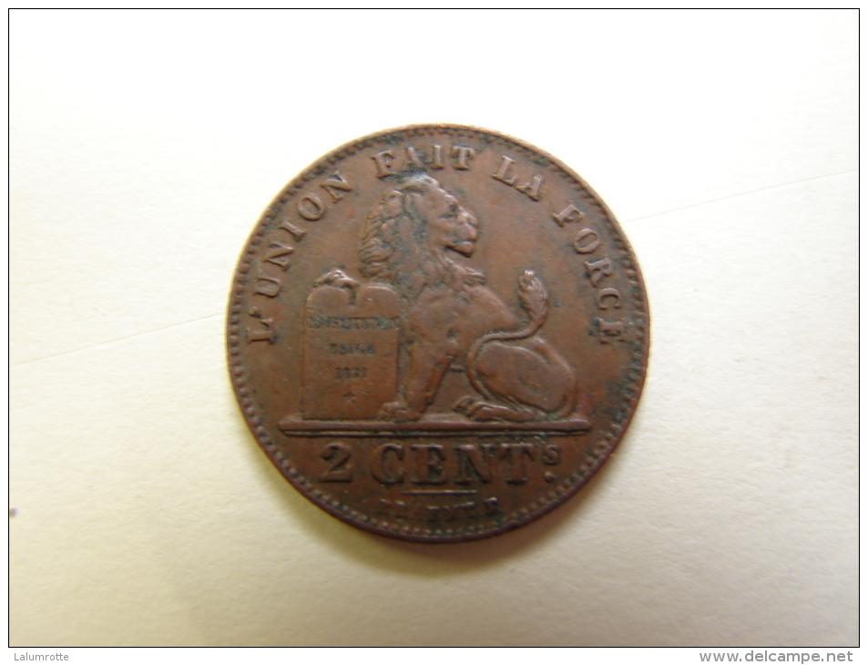 Monnaie. 21.  Albert Ier. 2 Centimes. 1912. Fr - 02. 2 Centimes