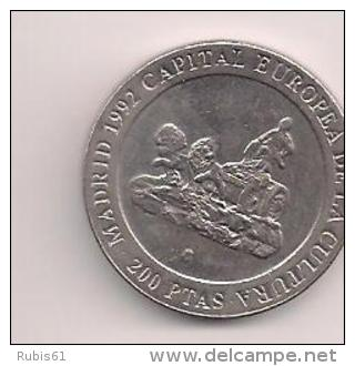 MONEDA 200PESETAS 1990 - España