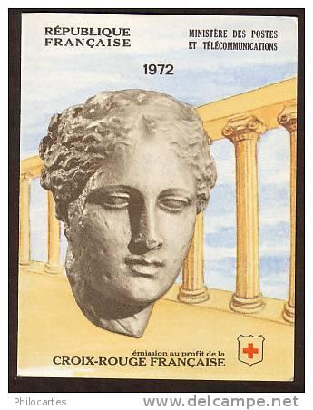 FRANCE  1972 -  Carnet Croix Rouge 2021  -  Nicolas Desgenettes Et Et François Broussais -  NEUF ** - Libretti