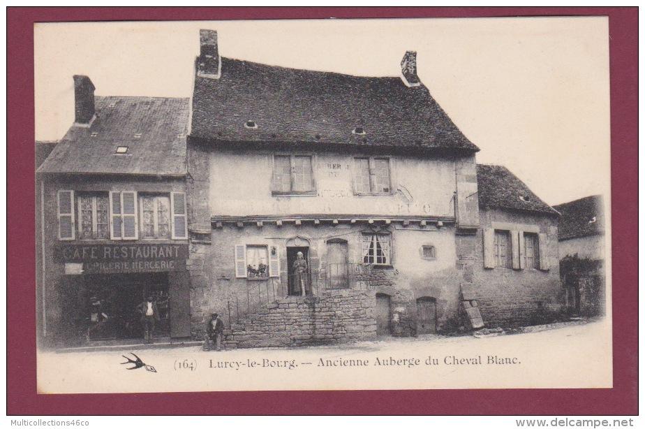 58 - 010315 - LURCY LE BOURG - Ancienne Auberge Du Cheval Blanc - Restaurant - France