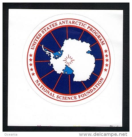 Antarctica Science Program Decal - Unclassified