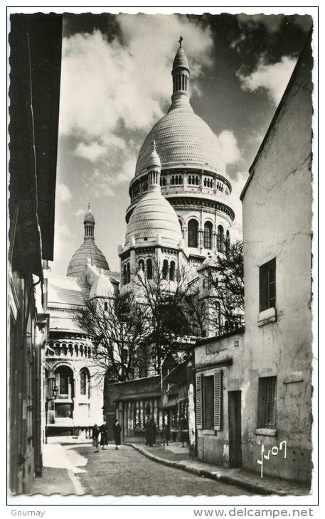 Paris En Flanant : Basilique Du Sacré Coeur - Montmartre Rue Du Chevalier De La Barre N°105 éd Yvon Dentelée - Sacré Coeur