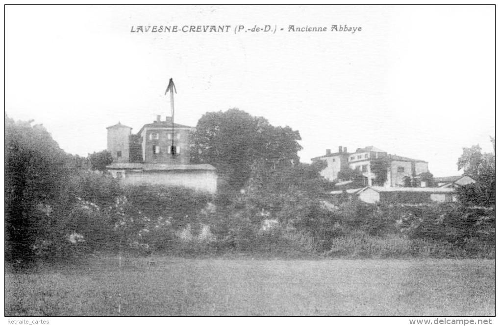 Crevant-Laveine - Canton De Lezoux - L'Ancienne Abbaye  - Très Beau Plan Animé - Otros Municipios