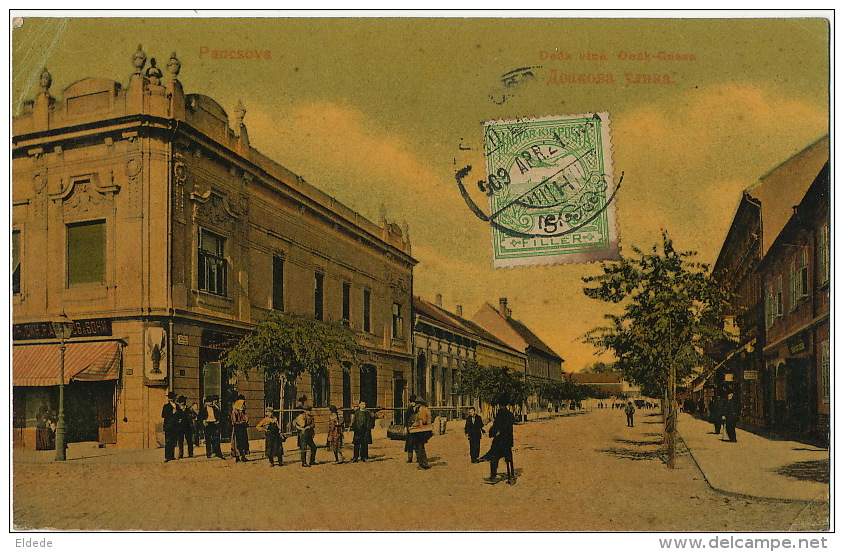 Pancsova Deak Gasse  Edit Kohn Samu To Cuba - Serbie