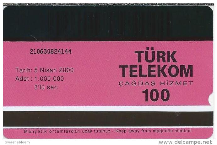 TR.- Telefoonkaart. Turk Telecom Turkey. Kasirlarimiz - Kucuksu. 100 Units. - Turquie