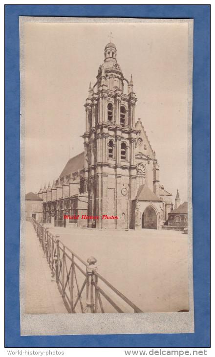 Photo Ancienne Vers 1860 / 1870 - BLOIS - La Cathédrale - Loir Et Cher - Anciennes (Av. 1900)