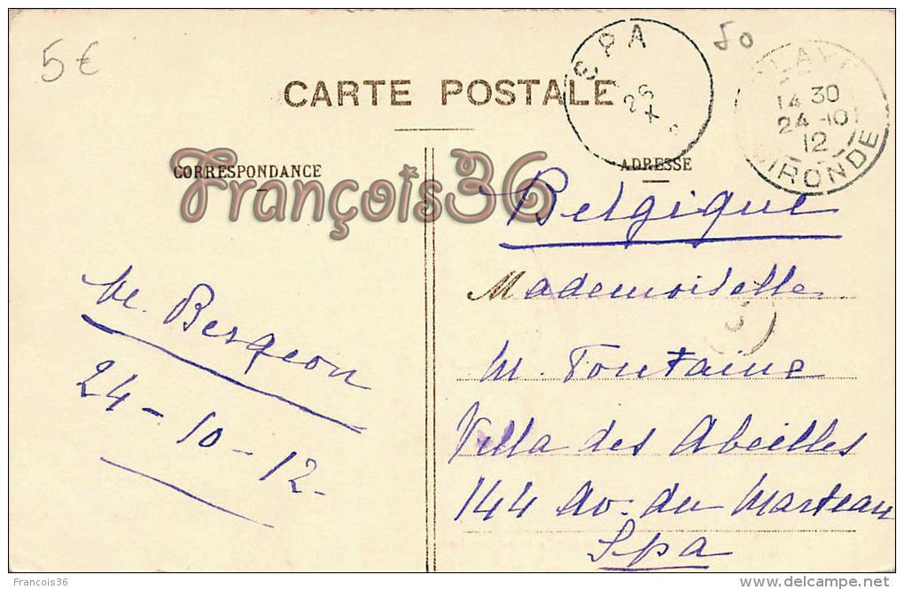 (33) Blaye - Hôtel Des Postes - 2 SCANS - Blaye