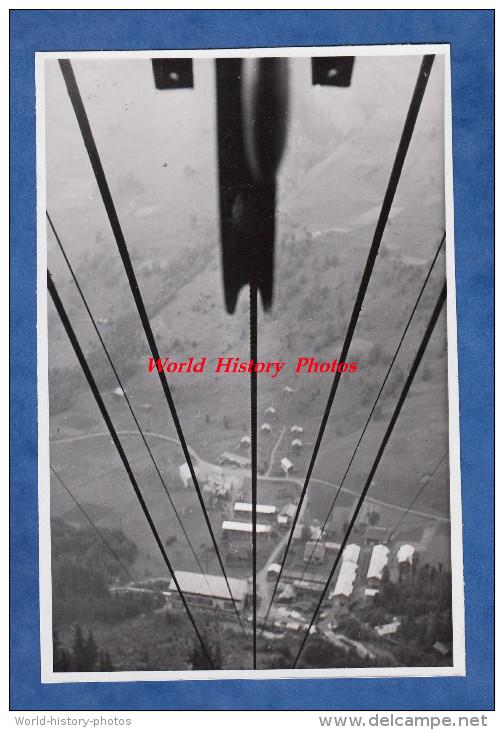 Photo Ancienne - Barrage Du Lac De La GIROTTE ( Haute Savoie ) - Vue Sur Belleville - 1947 - Hauteluce Queige Domelin .. - Métiers