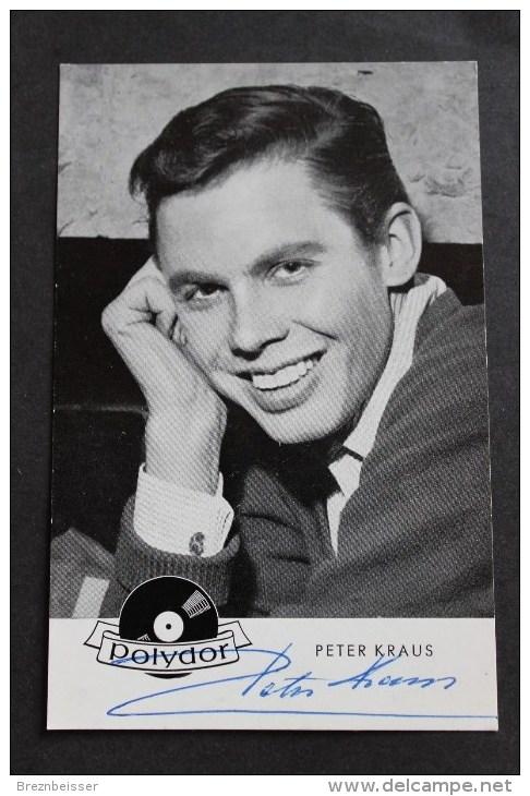 AK/    Autogramm Peter Kraus - Autogramme