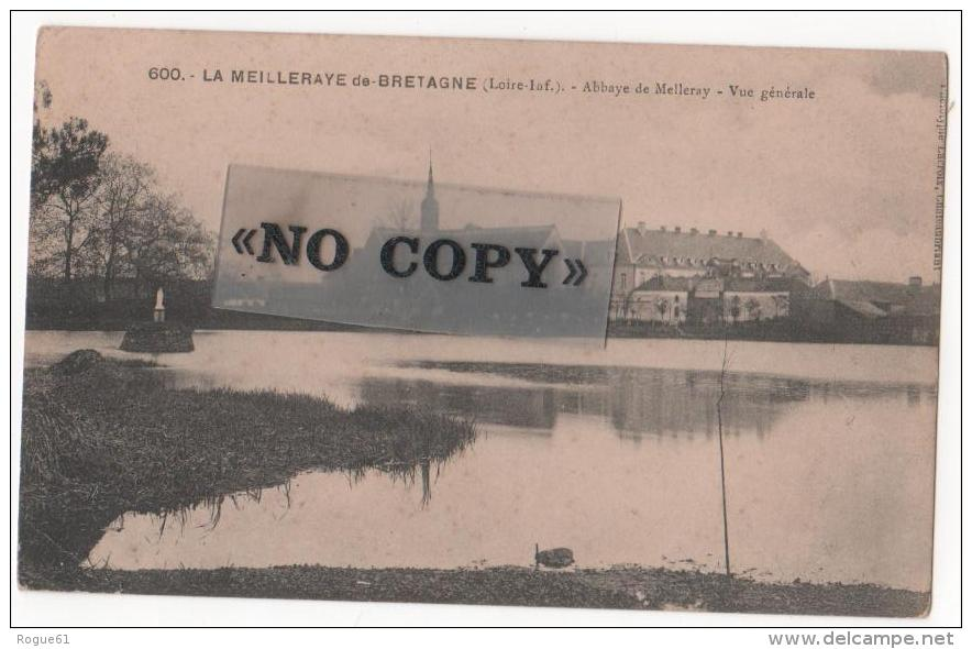 LA MEILLERAYE -DE-BRETAGNE  -  Abbaye De Melleray - Vue Générale - France