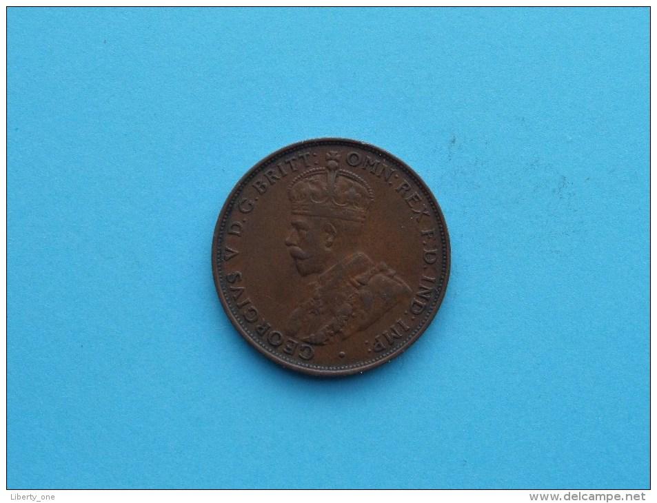 1933 - Penny / KM 23 ( Uncleaned Coin - For Grade, Please See Photo ) !! - Monnaie Pré-décimale (1910-1965)