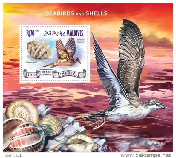 Maldives. 2014 Seabirds And Shells. (905b) - Birds
