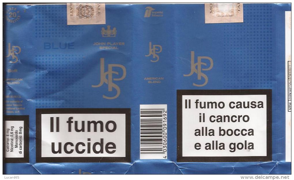TABACCO - COLLECTORS -  JPS BLUE - JOHN PLAYER SPECIAL EMPTY SOFT PACK ITALY - - Contenitori Di Tabacco (vuoti)