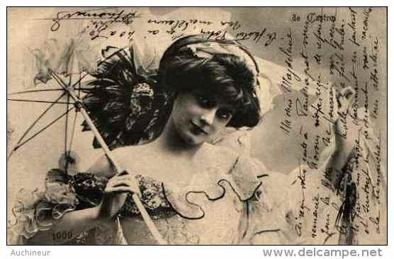 Artiste Femme 1900 - De Castro (1009) - Artistes