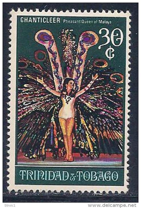 Trinidad & Tobago, Scott # 179 Mint Hinged Chanticleer, 1970 - Trinidad & Tobago (1962-...)