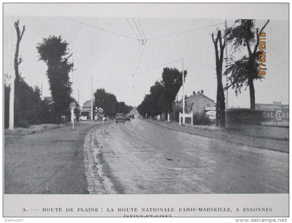 ESSONNES    Route De La Plaine     1940 - Vieux Papiers