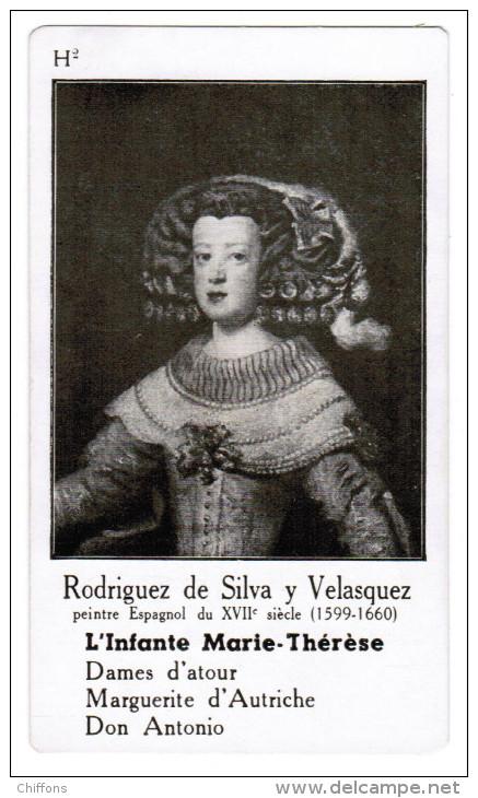 RODRIGUEZ DE SILVA Y VELASQUEZ PEINTRE ESPAGNOL DU XVIIe SIECLE 1599-1660 L'INFANTE MARIE-THERESE - Histoire