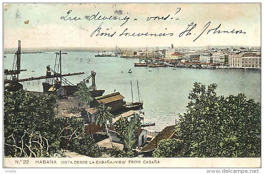 Réf : A-15-2870 :   CUBA   HABANA - Cuba