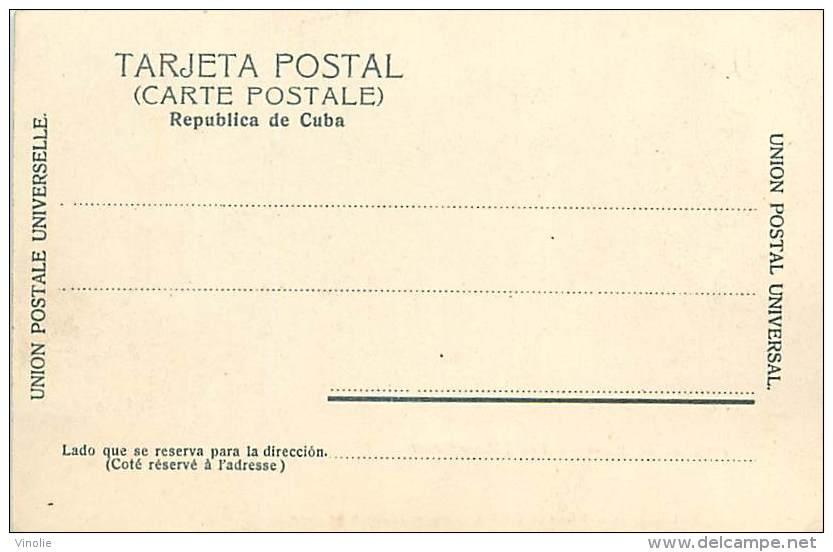 Réf : A-15-2884 :   CUBA  FORTALEZA DEL MORRO - Cuba