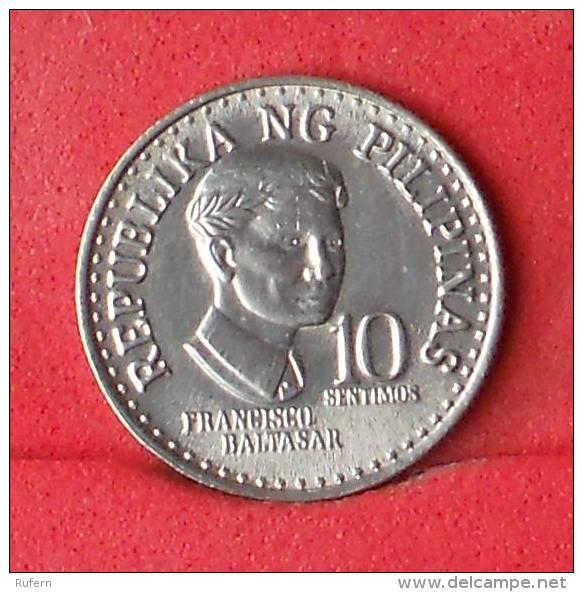 PHILIPPINES  10  SENTIMOS  1976   KM# 207  -    (Nº11307) - Philippinen
