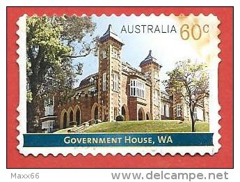 AUSTRALIA USATO - 2013 - Government Houses – WA Western Australia - 60 C - Michel AU 3964 - AUTOADESIVO - Usati
