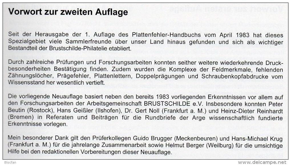 MICHEL Deutschland Brustschild-Handbuch 2001 Neu 78€ Deutsche Reich Plattenfehler DR Kaiserreich Special Catalog Germany - Magazines: Abonnements