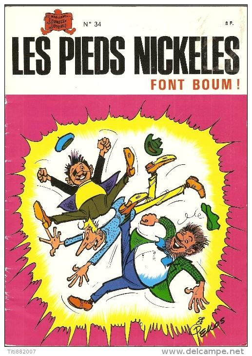 LES  PIEDS  NICKELES     -     FONT  BOUM    -   N° 34 - Pieds Nickelés, Les