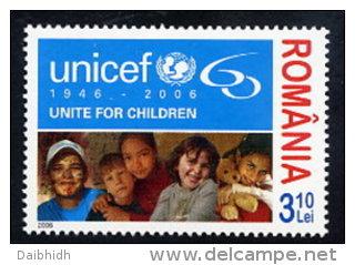 ROMANIA 2006 UNICEF 60th Anniversary MNH / **.  Michel 6156 - Unused Stamps