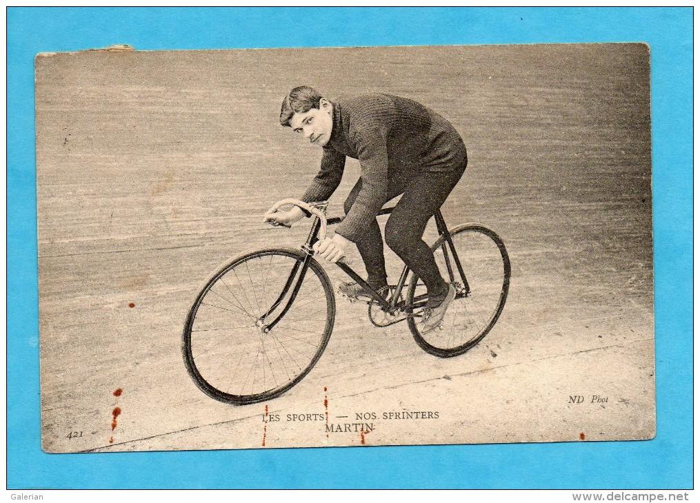 Les Sports, 1908. - Nos Sprinters. - Martin. - Cycling