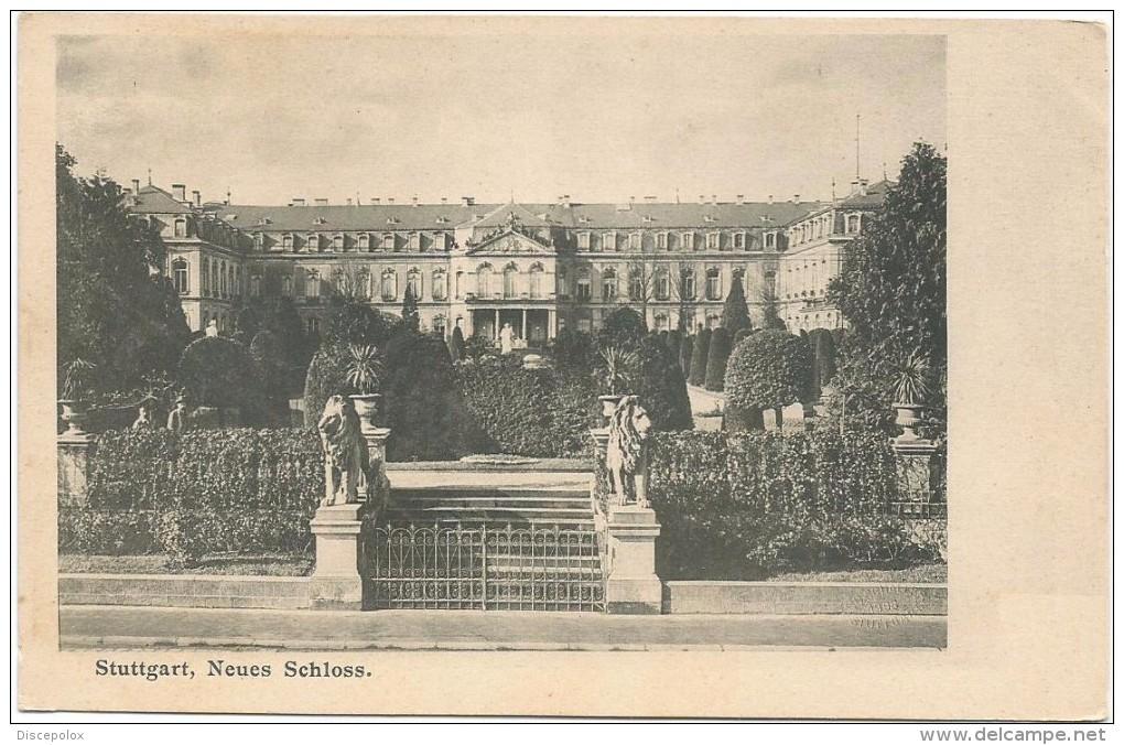 I2615 Stuttgart Stoccarda - Schloss Neues / Non Viaggiata - Stuttgart