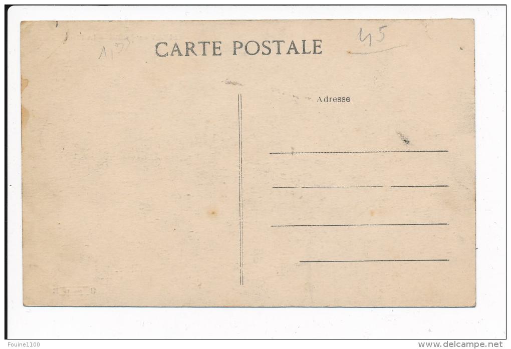 Carte  De SULLY SUR LOIRE  La Plage    ( Recto Verso ) - Sully Sur Loire