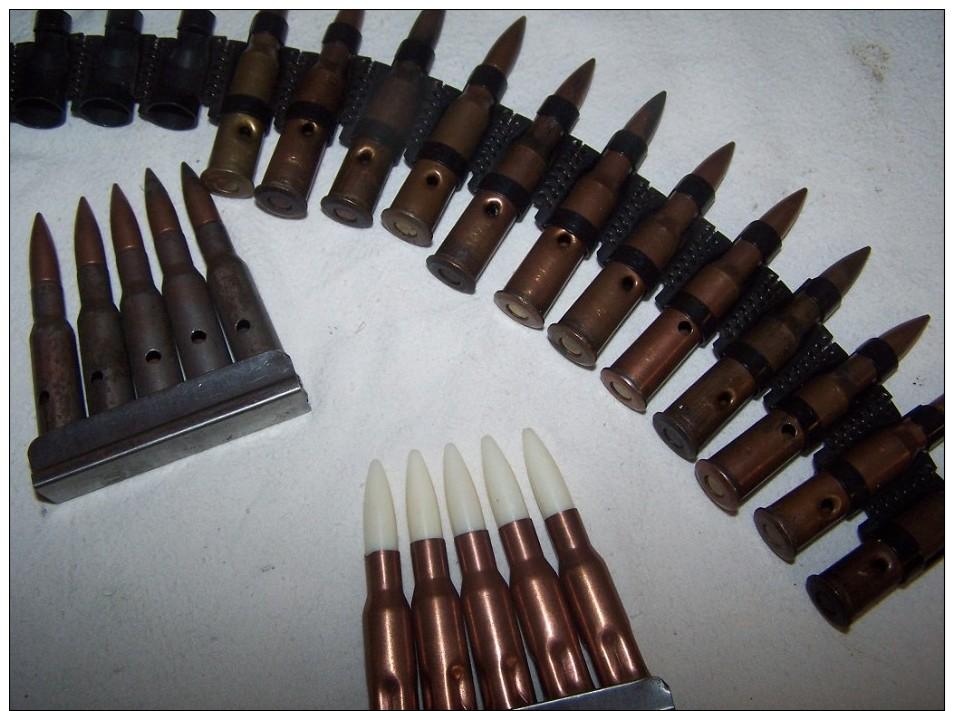 Lot Munitions  URSS - Armas De Colección