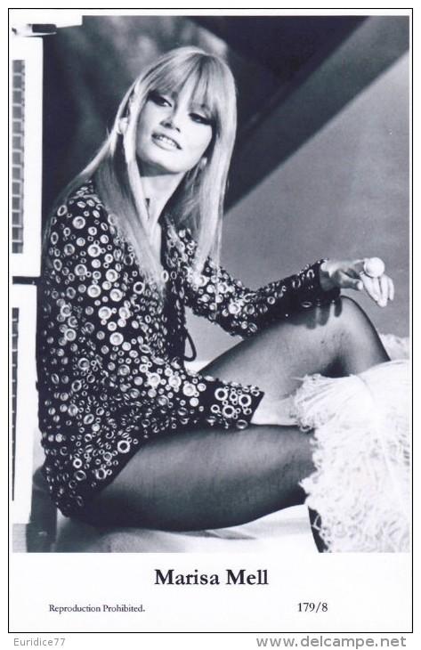 MARISA MELL - Film Star Pin Up - Publisher Swiftsure Postcards 2000 - Artiesten