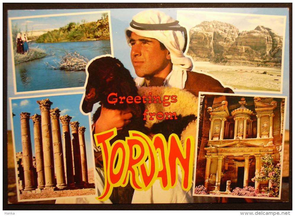 Jordanien Jordan , Nice Stamp, 3 Scans - Jordanien