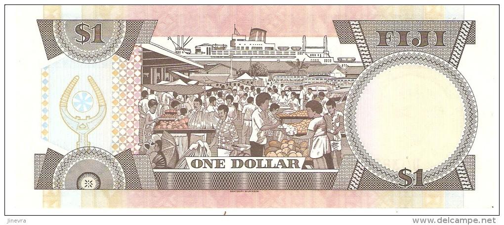 FIJI 1 DOLLARS 1987 PICK 86a AUNC - Fidji
