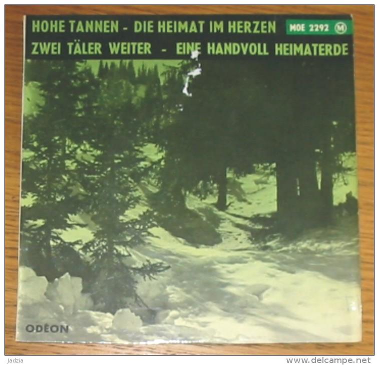 Disque 257 Vinyle 45 T  Die Strassensänger Mit Begeltorchester - Sonstige - Deutsche Musik